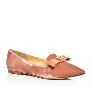 Ivanka Trump Lelle velvet pointed toe shoes